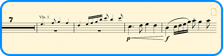 Paste as Cue - Paste As Cue makes creating cues the work of a moment – Sibelius automatically makes the music small and stops it playing back.
